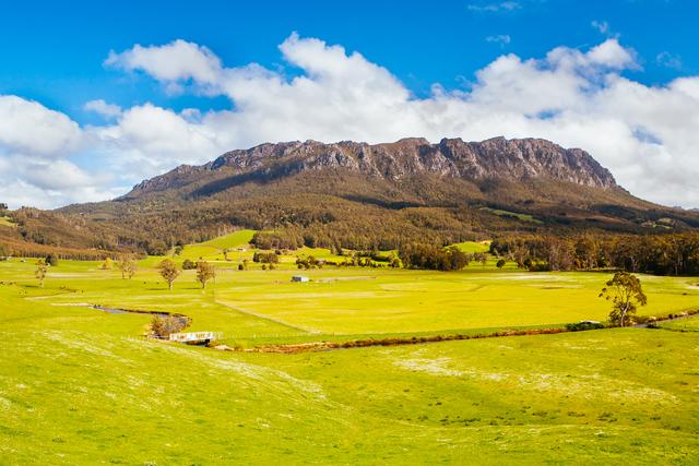 Mt Roland in Tasmania