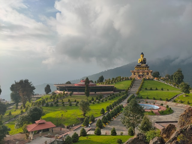 Buddha Park, Ravangla, Sikkim, India